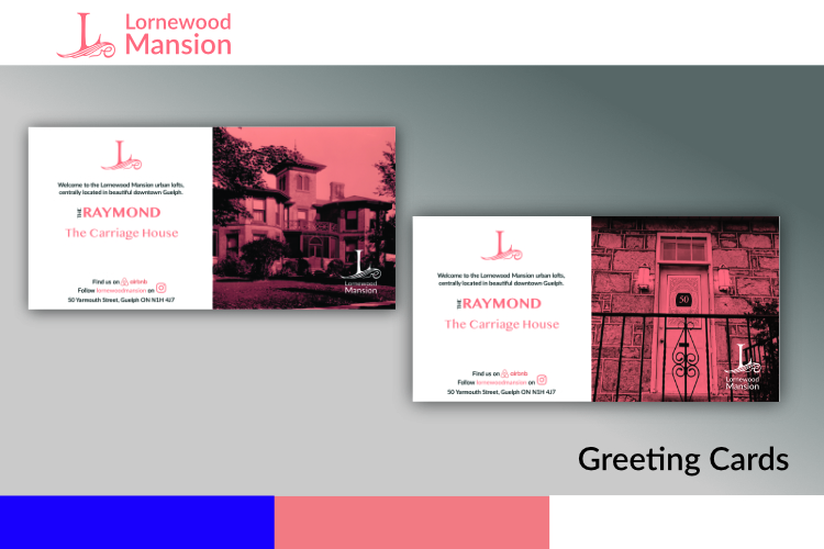 Business, Promotion, Greeting, Cards, Printing, Custom, Guelph, Raymond, Carriage House, Lornewood Mansion